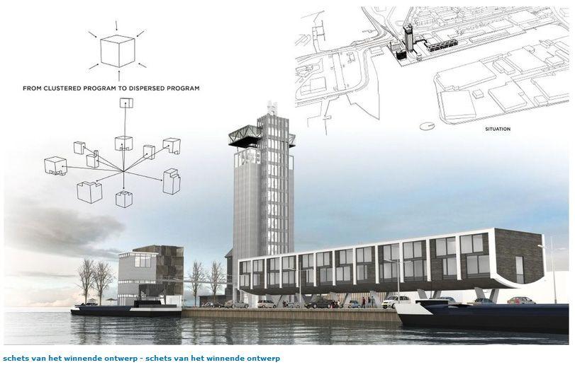 Silo Meubels Zutphen : Van het staal uit de grijze silo worden meubels gemaakt